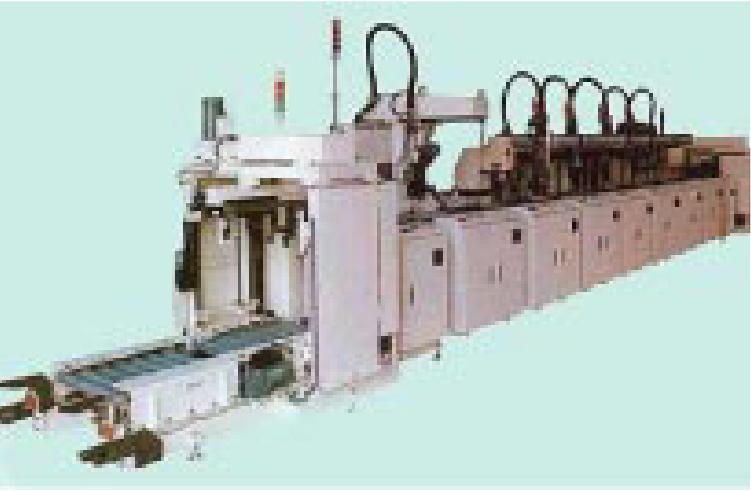 パレット式混流生産組立システムイメージ